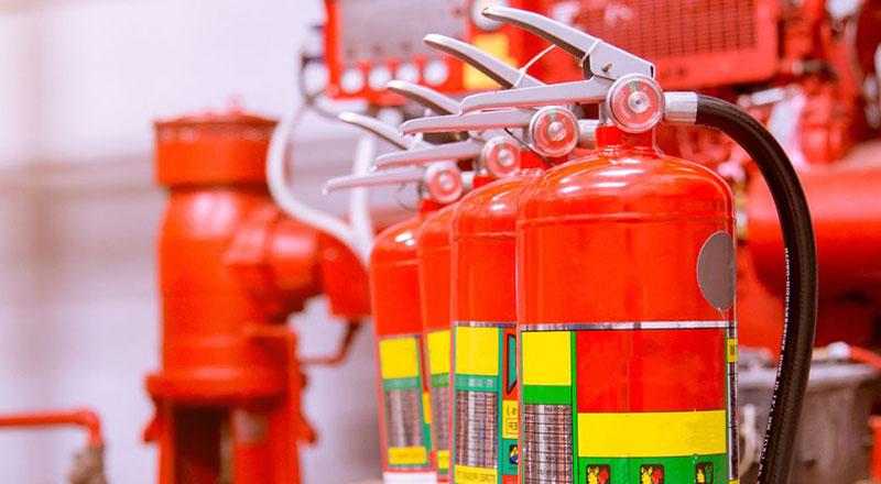 自动洒水灭火系统