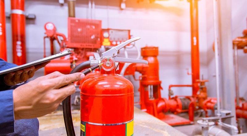 气体自动灭火系统