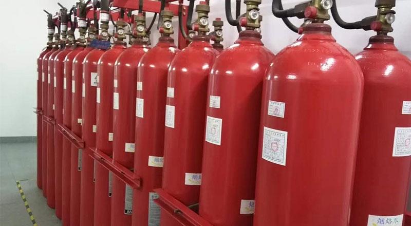七氟丙烷气体瓶组